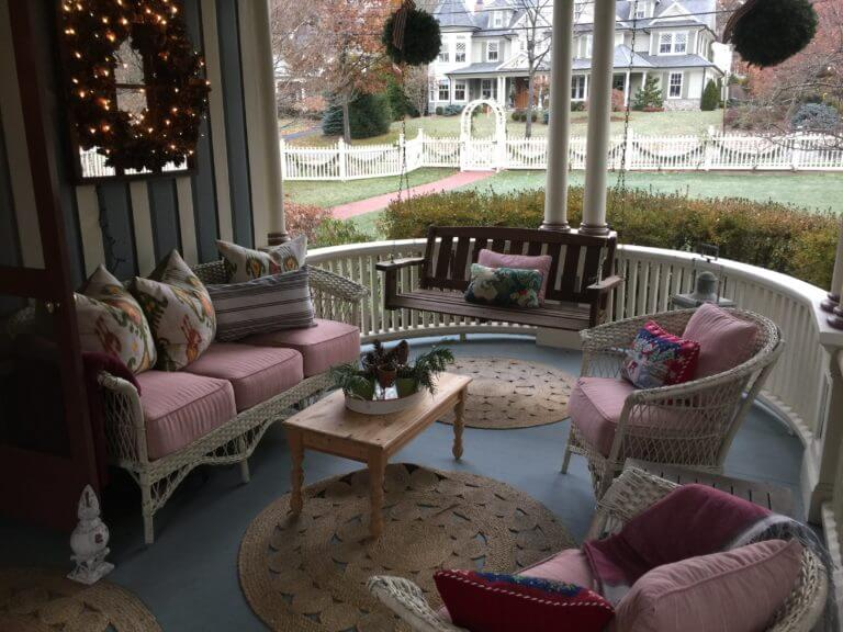 Holiday Covered Porch