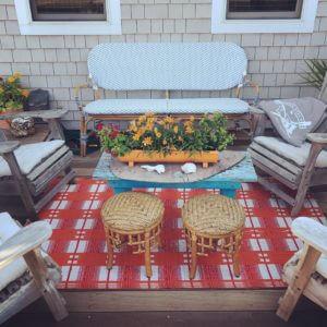 Beach House Front Porch