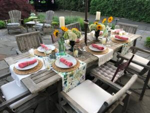 Late Spring Dinner Party