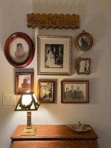 Historic Family Gallery Wall